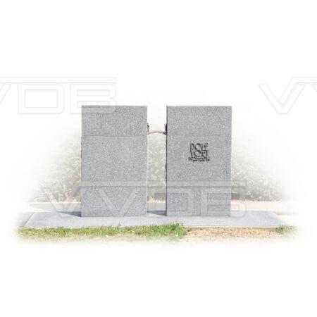 Steenhouwerij en grafzerken VVDB grafmonument 141007