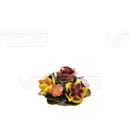 Steenhouwerij en grafzerken VVDB Porseleinen bloemstuk 451002