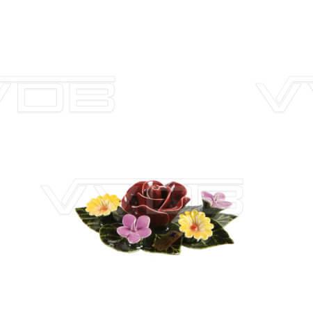Steenhouwerij en grafzerken VVDB Porseleinen bloemstuk 451008