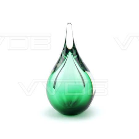 Steenhouwerij en grafzerken VVDB kristalglazen urn 321004