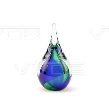 Steenhouwerij en grafzerken VVDB kristalglazen urn 321010