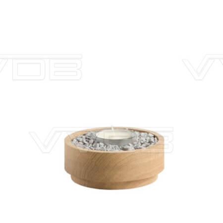 ij en grafzerken VVDB houten urn 3521006