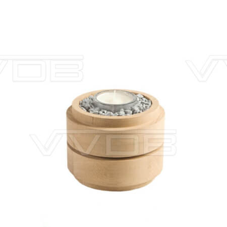 ij en grafzerken VVDB houten urn 3521007