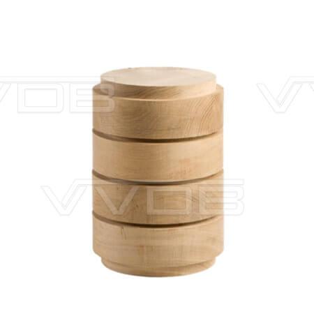 ij en grafzerken VVDB houten urn 351009