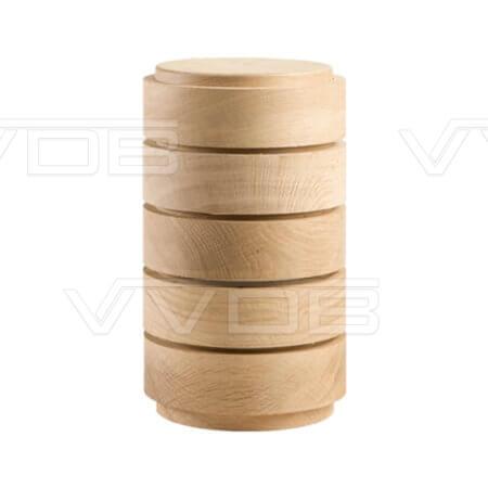 ij en grafzerken VVDB houten urn 351010