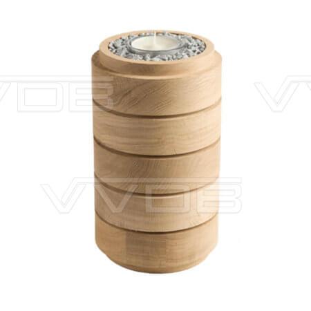 ij en grafzerken VVDB houten urn 351012