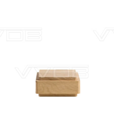 ij en grafzerken VVDB houten urn 352004