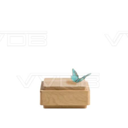 ij en grafzerken VVDB houten urn 352005