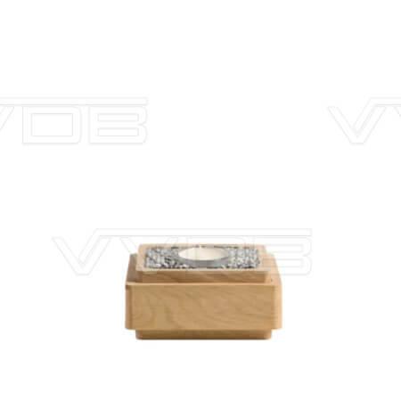ij en grafzerken VVDB houten urn 3522006
