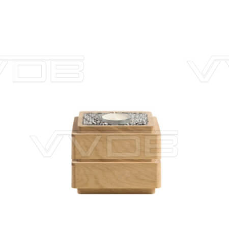 ij en grafzerken VVDB houten urn 352007