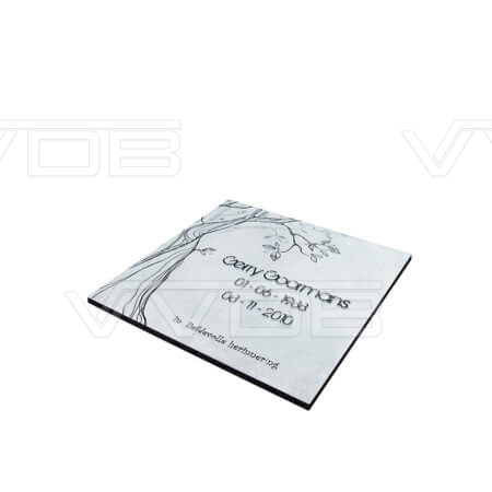 Steenhouwerij en grafzerken VVDB urnemonument 211563